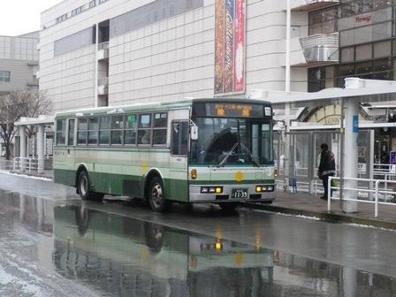 青森市営バス 後潟線: 福島、東北各地の路線・停留所 お散歩 【第3バス ...